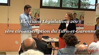 Elections Législatives 2017 en Tarn-et-Garonne: Valérie RABAULT candidate sortante PS sur la 1ère circonscription