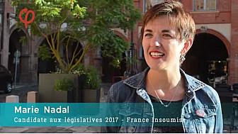Elections Legislatives 2017 en Tarn-et-Garonne: Marie NADAL et Jean-Claude MADAULE, candidats de la France Insoumise sur la 1ère circonscription