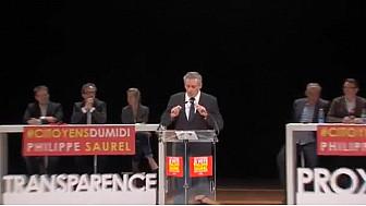 Discours Philippe SAUREL lors du meeting régional des #CitoyensduMidi, mercredi 2 décembre à #Toulouse