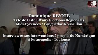 Régionales2015 Dominique REYNIE LR débat sur le numérique à @Futurapolis #Toulouse #TvCitoyenne #TvLocale_fr