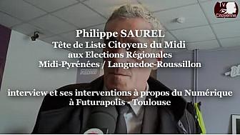 #Régionales2015 Philippe SAUREL Tête de liste