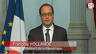Attentats terroriste à Paris : déclaration du Président à l'issue du Conseil de défense