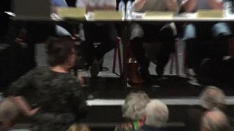 Réunion Publique contre la Centrale d'Enrobage Sablonceaux Saujon le 11 septembre 2019