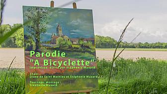 A bicyclette, vidéoparodie de Stéphanie Muzard, répétition