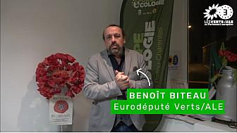 Soutien de Benoît Biteau eurodéputé EELV à Patrice Brouhard, maire sortant de Le Gua (17)