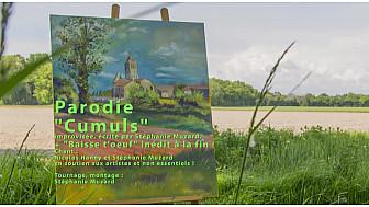 'Cumuls', vidéoparodie de Stéphanie Muzard avec Nicolas Hanny, répétition