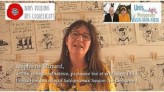Soutien de Stéphanie Muzard à la liste 'Unis pour agir et préserver Vaux-sur-Mer'