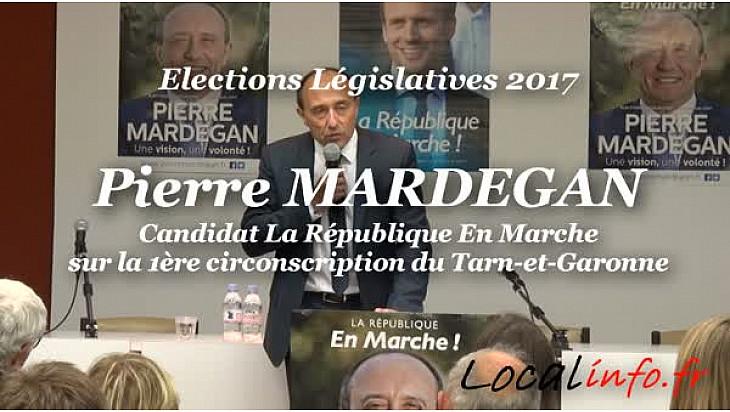 Interview de Pierre MARDEGAN candidat La République En Marche sur la 1ère circonscription du tarn-et-Garonne au micro de Michel Lecomte de Localinfo.fr @Mardegan2017