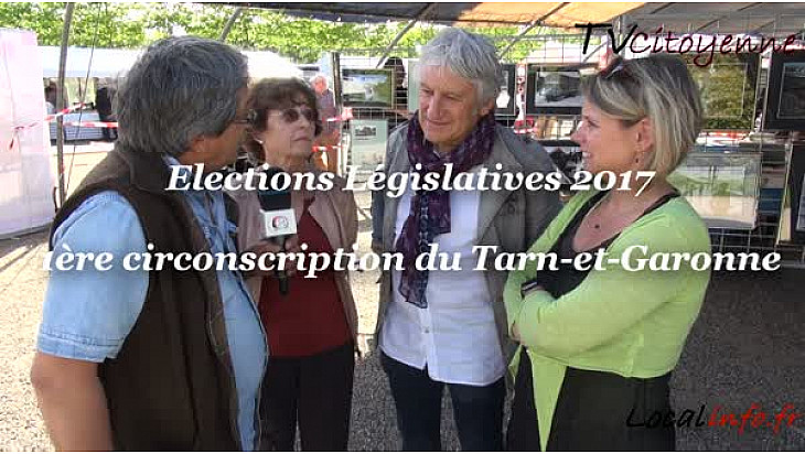 Elections Législatives 2017 en Tarn-et-Garonne: Rodolphe PORTOLES candidat sur la 1ère circonscription au micro de Michel Lecomte de Localinfo.fr et TvCitoyenne