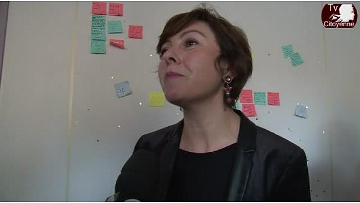 #Régionales2015 Carole DELGA tête de liste PS/PRG à @Futurapolis pour débattre du Numérique @CaroleDelga #TvCitoyenne #TvLocale_fr