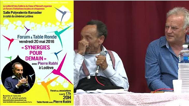 Pierre RABHI avec les Colibris Coeur d'Hérault à 'RENCONTRE SYNERGIE POUR DEMAIN' :#énergie  #Lodève @mvtcolibris #PierreRabhi #TvLocale_fr