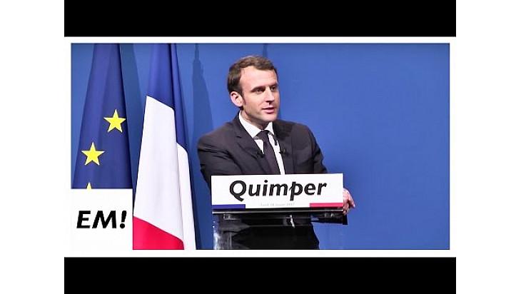 0:02 / 1:26:44 Quimper est en marche | Emmanuel Macron