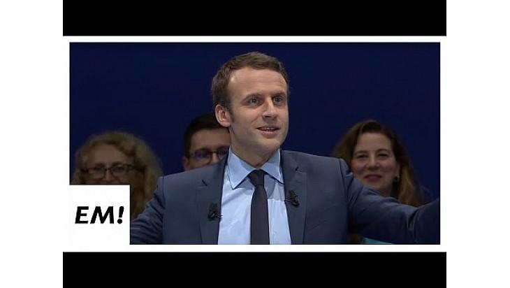 En MarcheRassemblement de Toulon du 18 février 2017 | Emmanuel Macron @enmarchefr @EmmanuelMacron