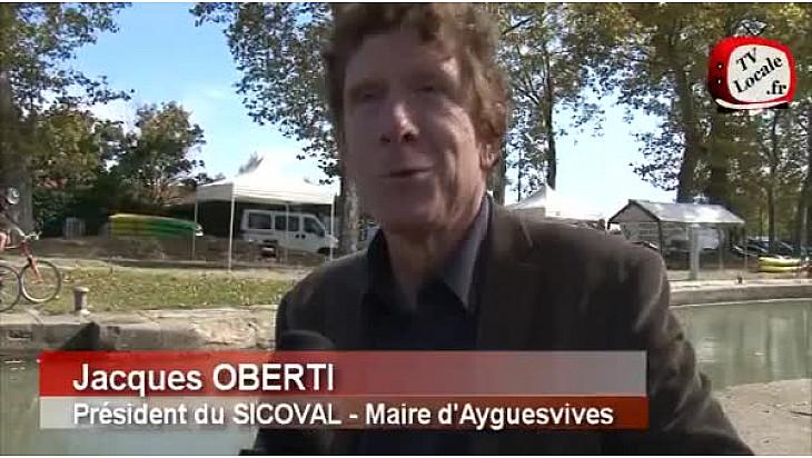 Jacques OBERTI, Président du @sicoval31 au micro de #TvLocale_fr
