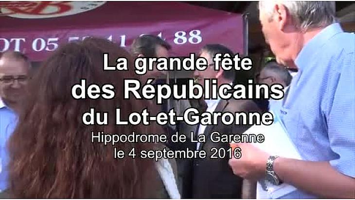 Vidéo 3'36'' - La grande fête des Républicains du Lot-et-Garonne.