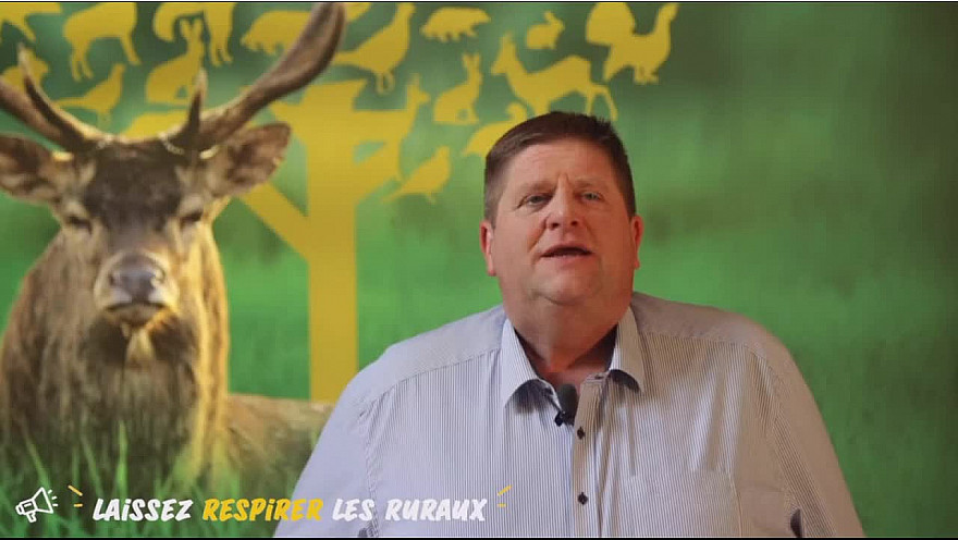 La première manifestation rurale virtuelle est lancée ! Laissez respirer les ruraux : intervention de Willy Schraen Président de la Fédération Nationale des Chasseurs @ChasseursFrance @WillySchraen #LibertéRuralit
