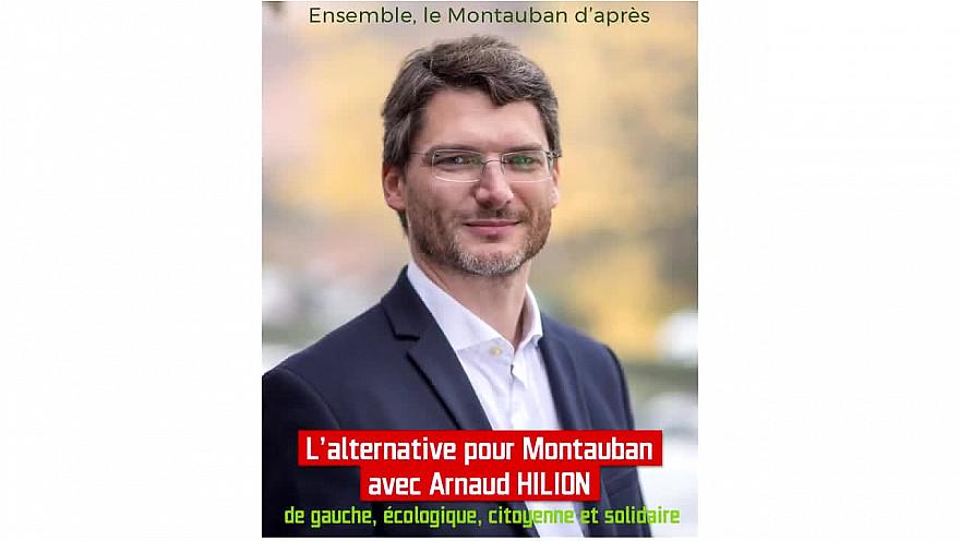 Ensemble, le Montauban d'après avec Arnaud HILION