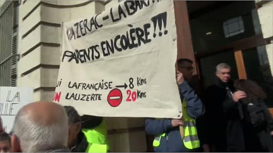 Les Parents d'Elèves et les élus s'opposent à la Carte Scolaire qui touche les communes de Vazerac et Labarthe en Tarn-et-Garonne