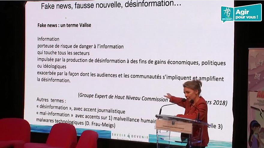 « Faut-il avoir peur des Fake news ? » par Divina Frau-Meigs durant la 'Journée du Savoir-être Numérique' à l'hôtel du Département de Haute Garonne  @divinameigs @SavoirDevenir @HauteGaronne @sicoval31 @Freya_Games @smartrezo