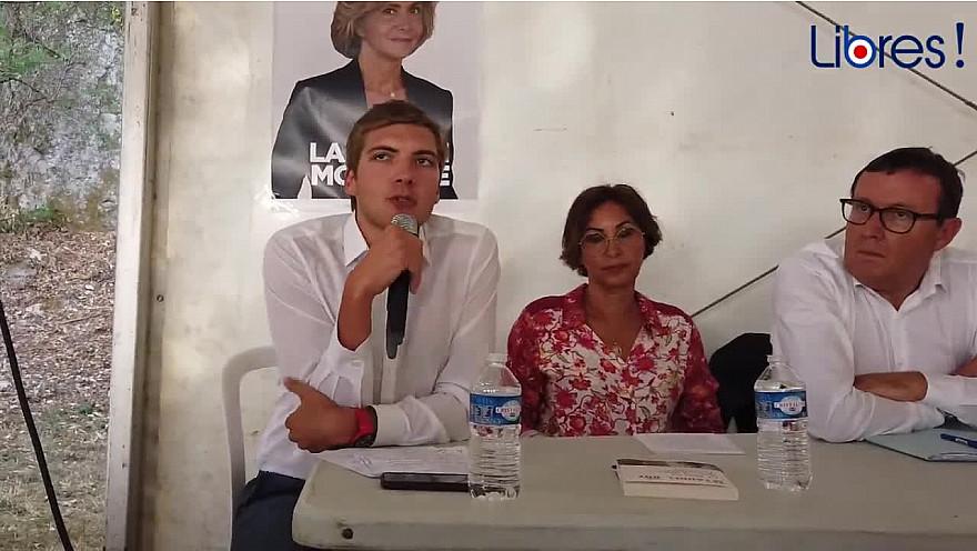 Intervention de Robin REDA Député de l'Essonne  à la rentrée politique de 'Soyons Libres' @robinreda @SoyonsLibres