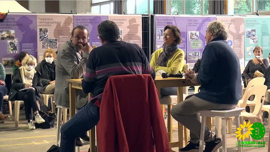 'Horizon Vert' conférence Eau et Agriculture avec Benoit Biteau, paysan et Député écologiste au parlement européen @EELV @BenoitBiteau