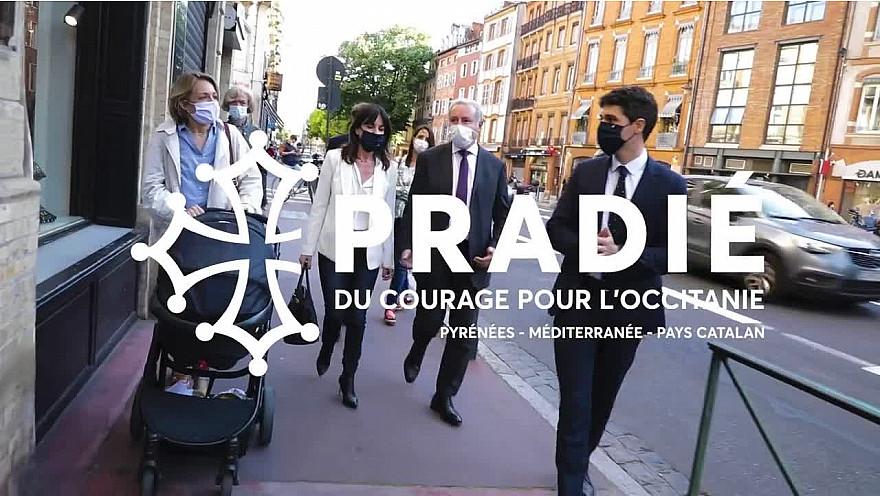 Elections Régionales Occitanie 2021 : Aurélien Pradié candidat LR 'du courage pour l'Occitanie' @PradieOccitanie