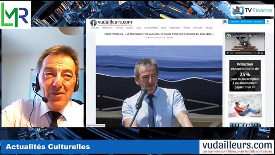 LMR :  Eddie Puyjalon Président de 'Le Mouvement de la Ruralité' sur  vudailleurs.com @LeMouvRuralite @EddiePuyjalon