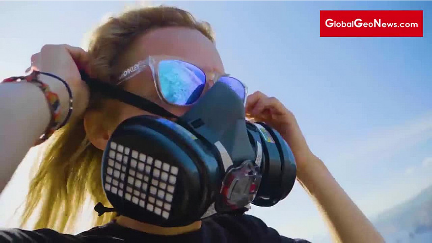 GlobalGeoNews / Anne Fornier, Volcanologue et lanceuse d'alerte
