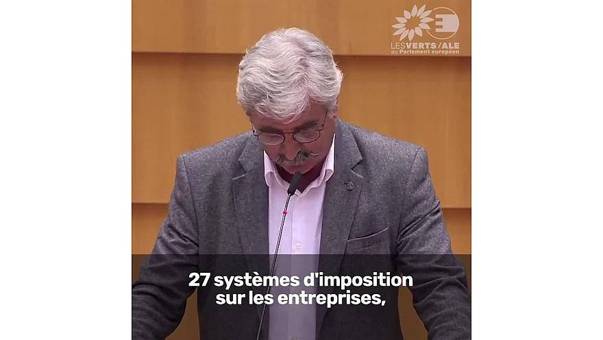 Fiscalité européenne des entreprises: sans stratégie concrète les multinationales continueront à se gaver @gruffat_claude #EPlenary #BT21 #FairTaxation