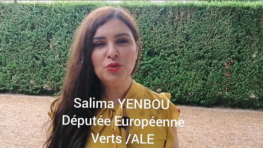 1 Elu(e) 1 Minute : Salima YENBOU Députée Européenne !