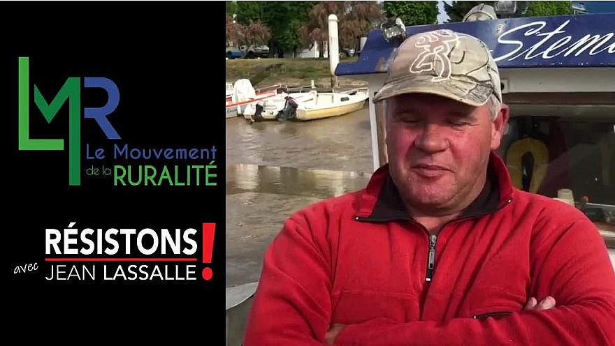 Elections Régionales Nouvelle Aquitaine 2021 : Le Mouvement de la Ruralité LMR vous présente Sébastien Lys Patron Marin Pêcheur candidat en Charente-Maritime @EddiePuyjalon @LeMouvRural33 @jeanlassalle