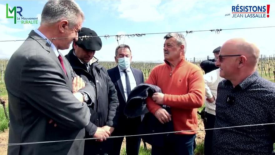Elections Régionales Nouvelle Aquitaine 2021 :  «la gestion de l'eau doit être au cœur de notre politique agricole régionale» @EddiePuyjalon @LeMouvRural33 @jeanlassalle
