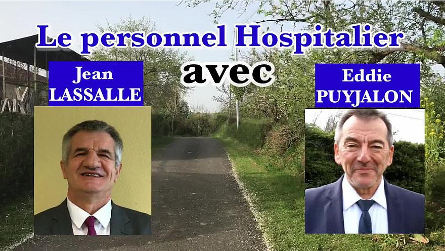 Le Mouvement de la Ruralité avec Résistons de Jean Lassalle au coté du monde hospitalier et de tous les  soignants.